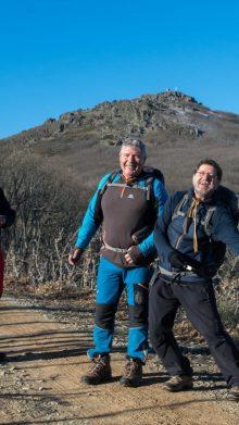 El grupo senderista «Los Reiterados» nos visitan